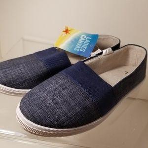 Shoes - Canvas Sneakers Blue Denim  large (7/8)